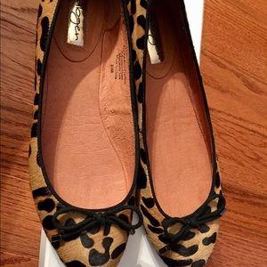 Halogen Leopard Ballerina Flats